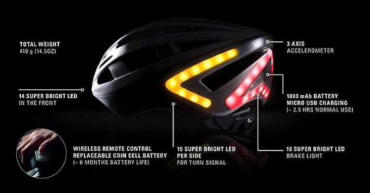 Lumos casco per ciclista