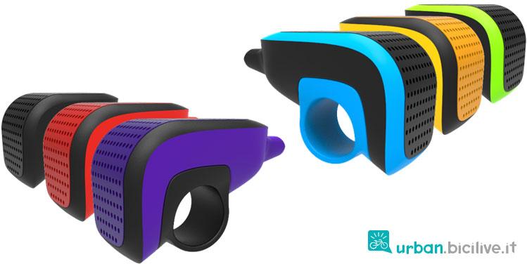 il campanello luce navigatore allarme Shoka è disponibile in 8 colori