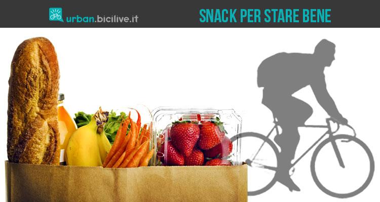 Snack e cibi sani per il ciclista che vuole dimagrire e star bene