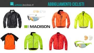 Madison Clothing: abbigliamento di alta qualità per ciclisti urbani