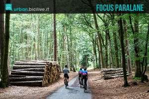 La bicicletta da corsa Focus Paralane, buona per tutte le superfici