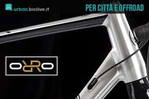 La bicicletta gravel per città e offroad Orro Bikes Terra