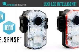 Luci per biciclette al led intelligenti Icon di See Sense