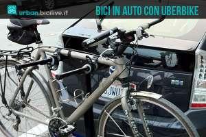 trasporto bici in auto con uberBike