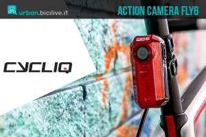 La luce di segnalazione posteriore con telecamera incorporata Fly6 di Cycliq