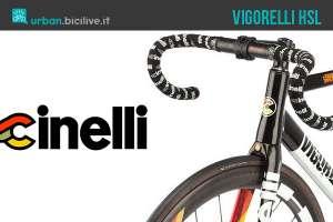 La bicicletta Cinelli Vigorelli HSL anche per la città