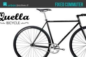 Bicicletta a scatto fisso Quella Nero