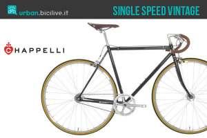 Bicicletta urbana Chappelli Vintage dal gusto retrò