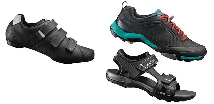 scarpe e sandali da ciclismo della linea 2017 Shimano Transit