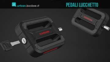 Pedali con lucchetto Bicycle Guardians per la protezione della bici dai furti