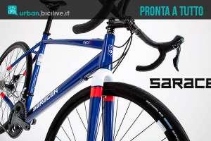 La bici urbana e da strada Saracen Hack 2