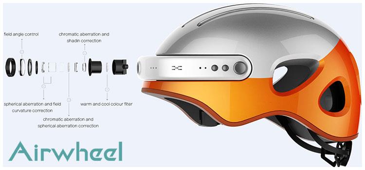 Dettagli sulla videocamera del casco intelligente Airwheel C5