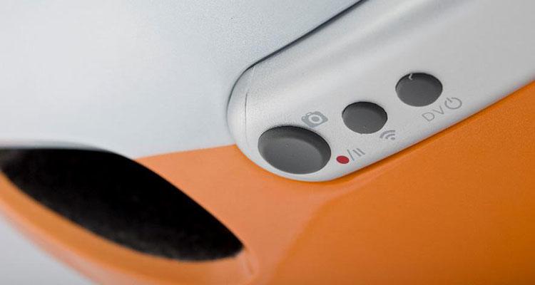 Pulsanti di controllo del casco intelligente per ciclisti Airwheel C5