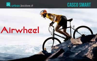 Airwheel C5: il casco intelligente con telecamera incorporata