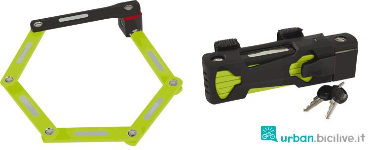 catena snodabile antiladro per biciclette