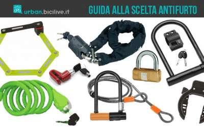 Immagine che mostra la copertina dell'articolo su urban.bicilive.it dedicato alla scelta del lucchetto da bici antifurto