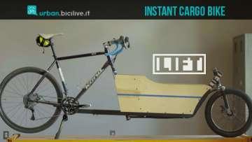 Lift Cargo Bike trasforma la tua bici normale in una da trasporto merci
