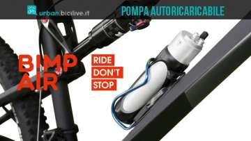 Bimp'Air E-Way pompa portatile ricaricabile ellettronicamente