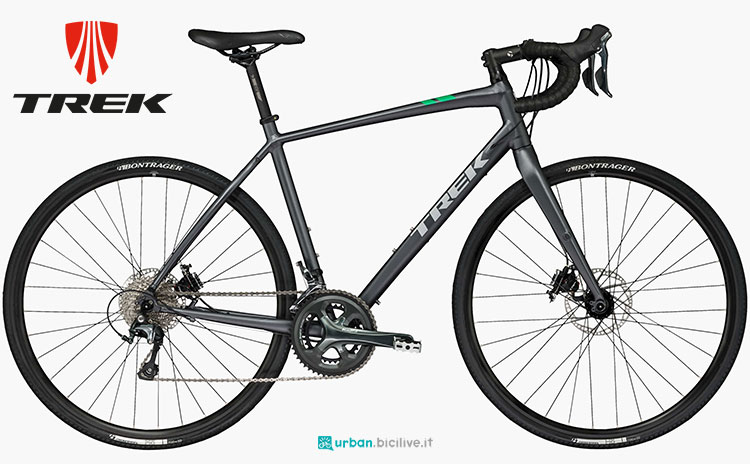 Una bicicletta gravel Trek CrossRip 2