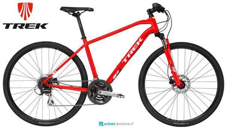 Una bici urbana Trek DS 2