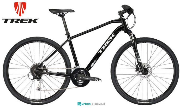 Una bici da città Trek DS 3