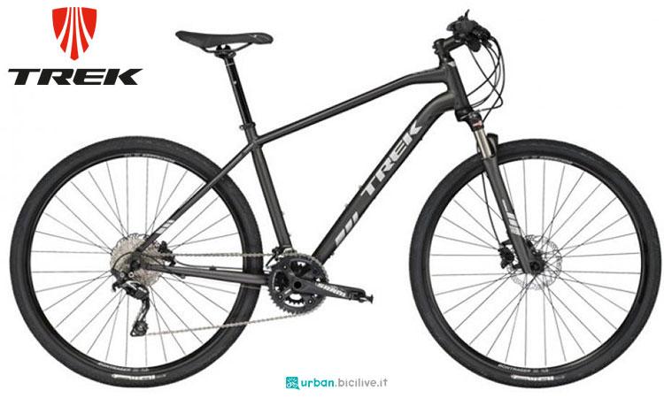 Una bicicletta urbana Trek DS 4
