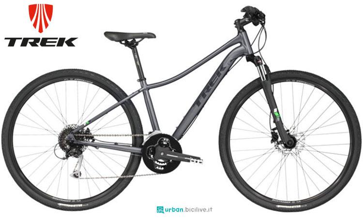 Una bicicletta da città Trek Neko 3 da donna modello 2017