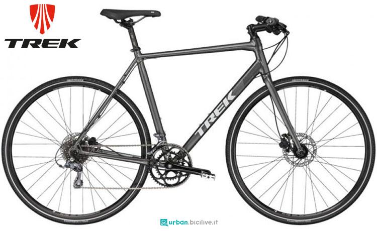 Una bicicletta urbana Trek Zektor 2