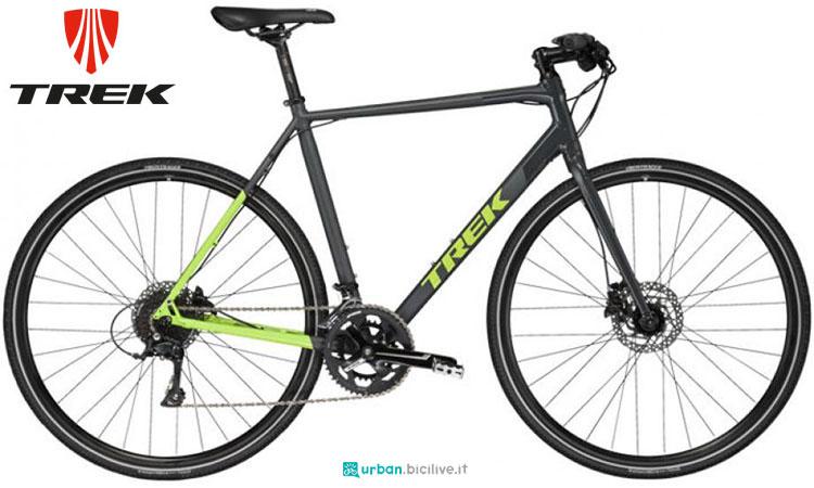 Una bici urbana trek Zektor 3