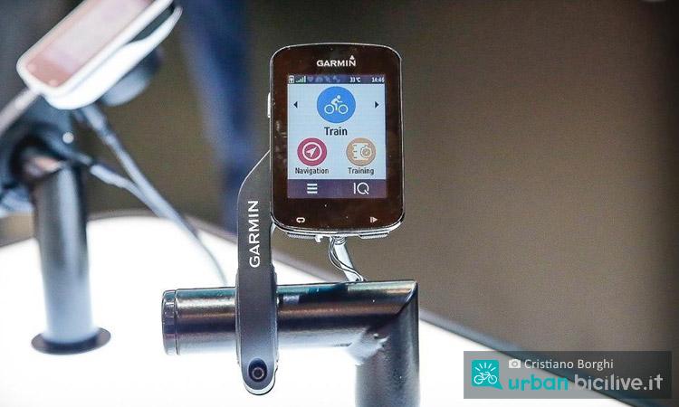 ciclocomputer con GPS Garmin Edge 820 alla fiera eurobike 2016