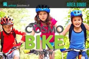 CosmoBike Show per i bambini: area bimbi in fiera