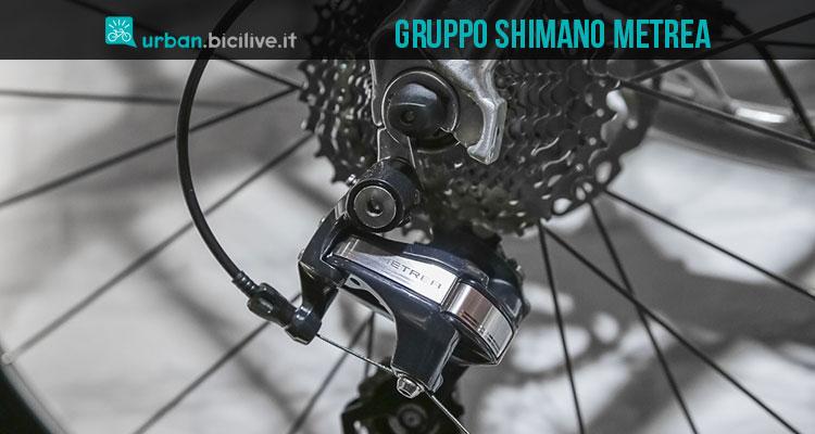 Il gruppo Shimano Metrea per biciclette
