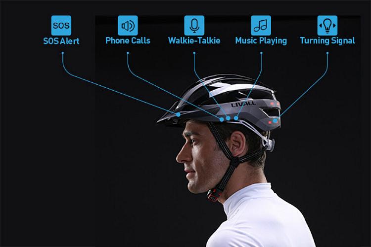 Livall Cycling Helmet BH81H