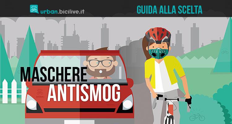 guida alla scelta delle mascherine antismog da ciclismo