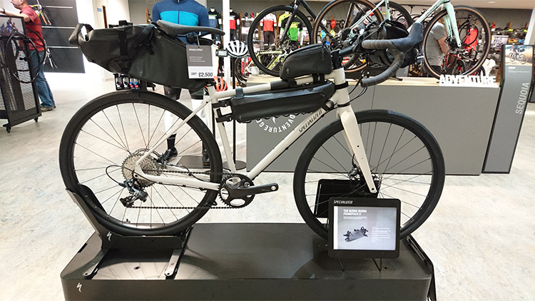Specialized Burra Burra bikepacking