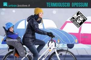accessorio bici copri seggiolino tucano urbano opossum