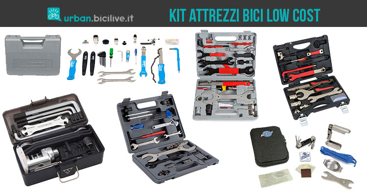 Confronto tra 6 kit attrezzi bici low cost