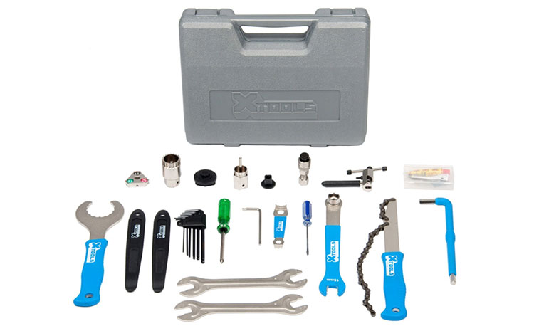 Un kit attrezzi bici X-Tools