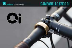 campanello knog oi per il ciclista urbano