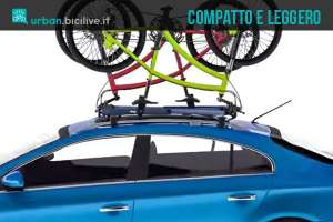 Upside Rack: portabici auto leggero, economico e universale