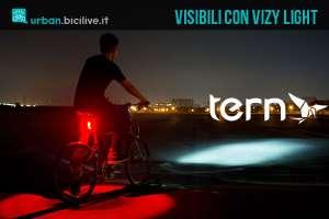 Tern Vizy Light, il faretto di segnalazione notturna per bici