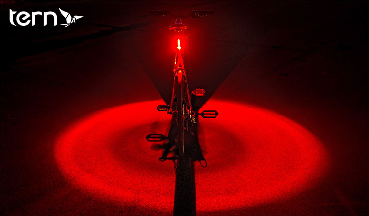 La luce rossa e circolare di Vizy Light