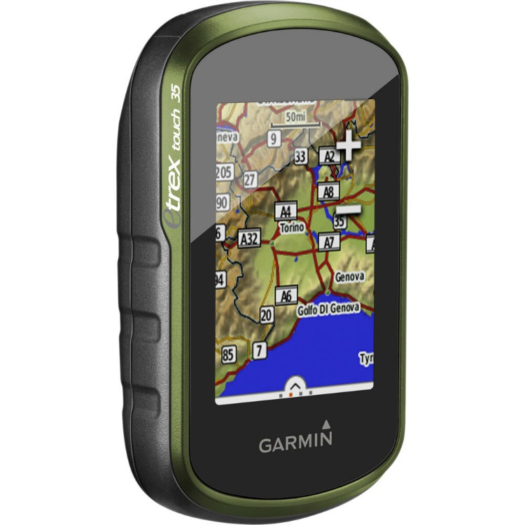 Garmin eTrex Touch 35 dimensioni