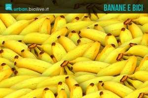 Banane alimento per ciclisti