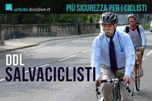 ciclisti pedalano più sicuri grazie al ddl salvaciclisti