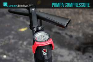 Pompa bici compressore Bontrager TLR Flash Charger