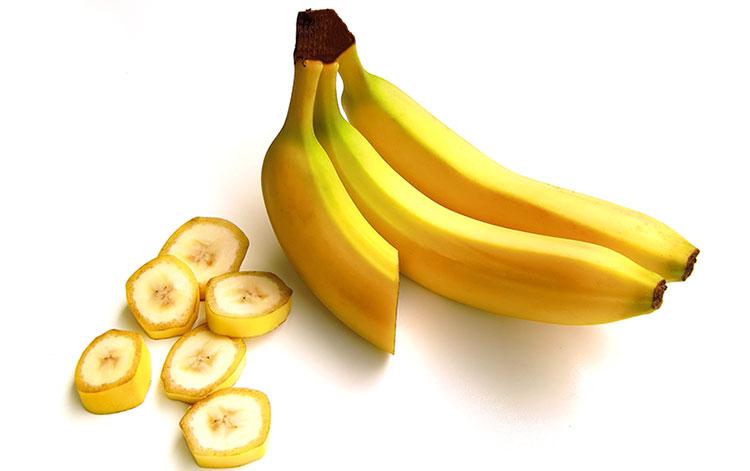 Tre gustose banane
