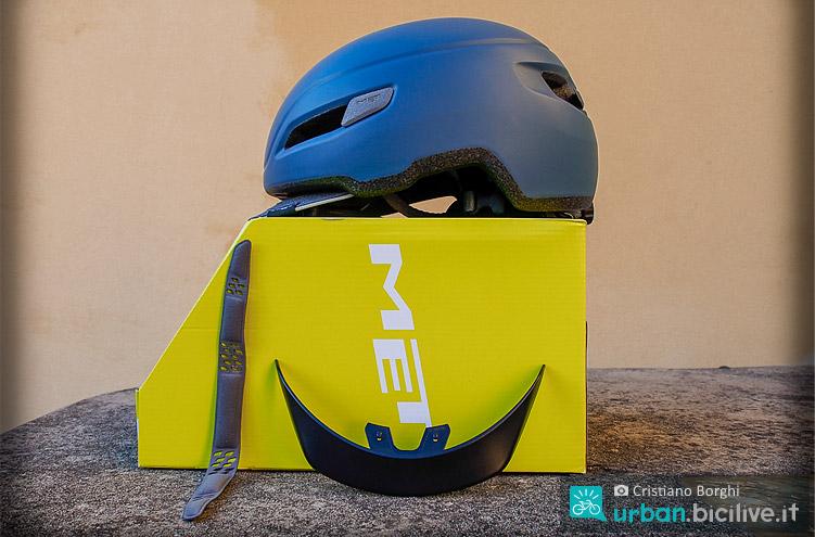 scatola del casco urban met corso