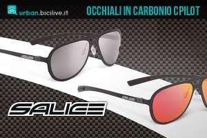 salice c pilot occhiali ciclismo carbonio
