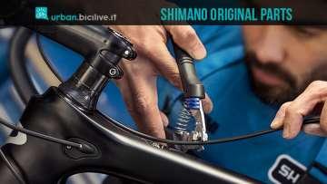 meccanico bici aggiusta componenti originali shimano